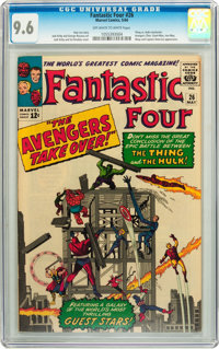 Fantastic Four #26 (Marvel, 1964) CGC NM+ 9.6 Off-white to white pages