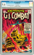Silver Age (1956-1969):War, G.I. Combat #107 (DC, 1964) CGC NM+ 9.6 Off-white pages....