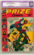 Golden Age (1938-1955):Superhero, Prize Comics #7 (Prize, 1940) CGC Apparent FN 6.0 Slight (A) Off-white pages....