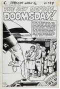 "Original Comic Art:Splash Pages, Jack Kirby and Dick Ayers Strange Tales #99 Splash Page ""TheDay Before Doomsday"" Original Art (Marvel, 1962)...."