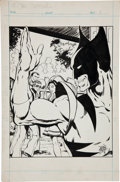 Original Comic Art:Splash Pages, John Byrne Unpublished New X-Men Splash Page Original Art (Marvel,1976)....