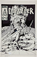 Original Comic Art:Covers, Paul Chadwick and Jackson Guice Dazzler #41 Cover OriginalArt (Marvel, 1982)....