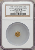 Expositions and Fairs, 1909 G25C Washington Alaska-Yukon-Pacific Expo Token MS64 NGC.Hart's Coins of the West....