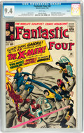 Silver Age (1956-1969):Superhero, Fantastic Four #28 Curator pedigree (Marvel, 1964) CGC NM 9.4 Whitepages....