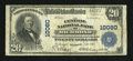 National Bank Notes:Virginia, Richmond, VA - $20 1902 Plain Back Fr. 654 The Central NB Ch. #10080. ...