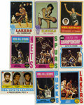 Basketball Cards:Lots, 1971-1974 Topps Basketball 0 Group Lot of 101. Nice group of earlyTopps basketball cards featuring players from both the NB...