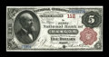 National Bank Notes:Maine, Bangor, ME - $5 1882 Brown Back Fr. 466 The First NB Ch. # 112. ...