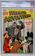Golden Age (1938-1955):Science Fiction, Strange Adventures #8 (DC, 1951) CGC FN+ 6.5 Off-white to whitepages....