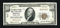 National Bank Notes:Pennsylvania, Bristol, PA - $10 1929 Ty. 1 The Farmers NB of Bucks County Ch. #717. ...