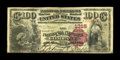Newark, NJ - $100 1882 Brown Back Fr. 521 The National Newark Banking Company Ch. # 1316