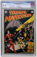 Golden Age (1938-1955):Science Fiction, Strange Adventures #18 (DC, 1952) CGC FN+ 6.5 White pages....