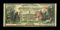 National Bank Notes:Pennsylvania, Clearfield, PA - $5 1875 Fr. 402 The First NB Ch. # 768. ...