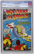 Silver Age (1956-1969):Science Fiction, Mystery in Space #47 White Mountain pedigree (DC, 1958) CGC VF- 7.5Off-white to white pages....