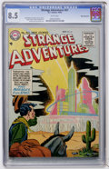 Golden Age (1938-1955):Science Fiction, Strange Adventures #61 White Mountain pedigree (DC, 1955) CGC VF+8.5 White pages....