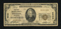 National Bank Notes: , Pontotoc, MS - $20 1929 Ty. 1 The First NB Ch. # 9040. ...