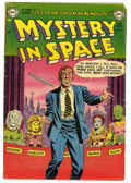 Golden Age (1938-1955):Science Fiction, Mystery in Space #10 (DC, 1952) Condition: VG-....
