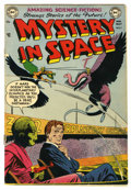 Golden Age (1938-1955):Science Fiction, Mystery in Space #7 (DC, 1952) Condition: GD/VG....