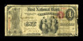 National Bank Notes:Pennsylvania, Clearfield, PA - $1 Original Fr. 380 The First NB Ch. # 768. ...
