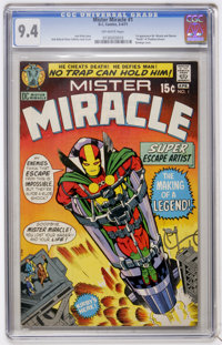 Mister Miracle #1 (DC, 1971) CGC NM 9.4 Off-white pages