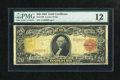 Large Size:Gold Certificates, Fr. 1180 $20 1905 Gold Certificate PMG Fine 12....