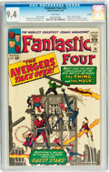 Silver Age (1956-1969):Superhero, Fantastic Four #26 Curator pedigree (Marvel, 1964) CGC NM 9.4 White pages....