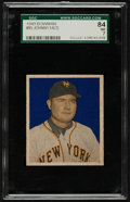 Baseball Cards:Singles (1940-1949), 1949 Bowman Johnny Mize #85 SGC 84 NM 7....