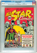 Golden Age (1938-1955):Superhero, All Star Comics #7 Billy Wright pedigree (DC, 1941) CGC NM 9.4 White pages....