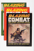 Magazines:Miscellaneous, Blazing Combat #1-4 Group (Warren, 1965-66).... (Total: 4 ComicBooks)