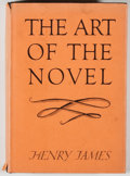 Books:Fiction, Henry James. Group of Three Books, including: The Art of the Novel. New York: Scribners, 1946. 348 pages. [and:]... (Total: 3 Items)