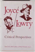 Books:Books about Books, James Joyce [subject]. Group of Four Books Relating to Joyce, including: Suzette A. Henke. Joyce's Moraculous Sindbo... (Total: 4 Items)