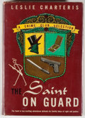 Books:Mystery & Detective Fiction, Leslie Charteris. The Saint on Guard. Garden City: Publishedfor the Crime Club by Doubleday, Doran and Co., 1944. F...