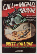 Books:Mystery & Detective Fiction, Brett Halliday. Call for Michael Shayne. London: Jarrolds, [1951]. First UK edition. Twelvemo. 191 pages. Publisher'...