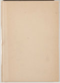 Books:Books about Books, Bibliophile Society. Annual Report of the Bibliophile Society for 1926. [Cedar Rapids: Torch Press, 1927]. First...