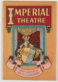 Books:Music & Sheet Music, [Color Lithography]. Group of Four Vintage 1920's New York Theater Programs with Wonderful Lithographic Covers. [New York: V...