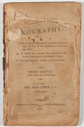 Books:Science & Technology, Alex Leney. Compendium of Geography. Dublin: P. Wogan, 1807.Second edition. Octavo. 251, 74 pages. Contemporary lea...