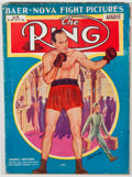 Books:Periodicals, [Boxing]. Group of Five Issues of The Ring. New York: TheRing, 1939-1942. All issues show various wear with some st...