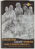 Books:Horror & Supernatural, [Jerry Weist]. Mary E. Wilkins-Freeman. Collected GhostStories. Sauk City: Arkham House, 1974. First edition, first...