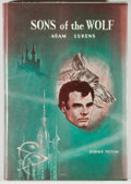 Books:Science Fiction & Fantasy, [Jerry Weist]. Adam Lukens. Sons of the Wolf. New York: Avalon Books, [1961]. First edition, first printing. Revie...