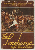 Books:Americana & American History, J. Frank Dobie. The Longhorns. Boston: Little, Brown, 1941.First edition, first printing. Octavo. 388 pages. Pu...