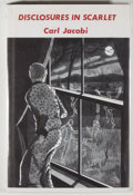 Books:Horror & Supernatural, [Jerry Weist]. Carl Jacobi. Disclosures In Scarlet. [Sauk City]: Arkham House, 1972. First edition, first printing. ...