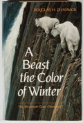 Books:Natural History Books & Prints, Douglas H. Chadwick. A Beast the Color of Winter. The Mountain Goat Observed. San Francisco: Sierra Club, 1983....