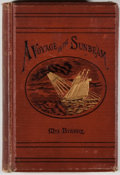 Books:Travels & Voyages, Mrs. Brassey. A Voyage in the 'Sunbeam': Our Home on the Ocean for Eleven Months. New York: John Wurtele Lovell,...