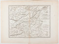 Books:Maps & Atlases, Three 1821 Military Maps of India....