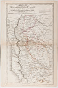 Books:Maps & Atlases, Four 1821 Military Maps of India....