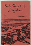 Books:Americana & American History, [Mogollon]. SIGNED. Two Books on New Mexico's Mogollon, including:H. A. Hoover. Early Days in the Mogollons, Tales from t...