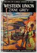 Books:Fiction, Zane Grey. Western Union. New York: Harper & Brothers,1939. First edition, first printing. Octavo. 297 pages. P...