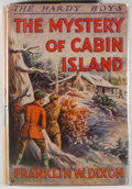 Books:Fiction, Franklin W. Dixon. Two Hardy Boys Books, including: The Mysteryof Cabin Island. [1929] [and:] While the Clock T...