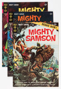 Silver Age (1956-1969):Science Fiction, Mighty Samson Group - Twin Cities pedigree (Gold Key, 1964-69) Condition: Average VF-.... (Total: 7 Comic Books)