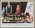 """Movie Posters:Horror, Curse of the Stone Hand (A.D.P., 1964). Half Sheet (22"""" X 28""""). Horror.. ..."""