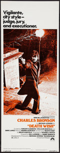 "Movie Posters:Action, Death Wish (Paramount, 1974). Insert (14"" X 36""). Action.. ..."